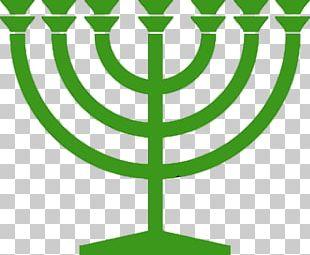 Jewish Symbolism Menorah Judaism Jewish Holiday PNG