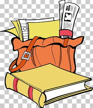 Paper Backpack School PNG