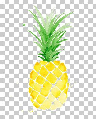 Watercolor Painting Pineapple Drawing Printmaking PNG