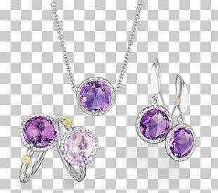 Jewellery Engagement Ring Amethyst Diamond PNG