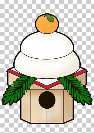 Kagami Mochi Kagami Biraki Japanese New Year Food PNG