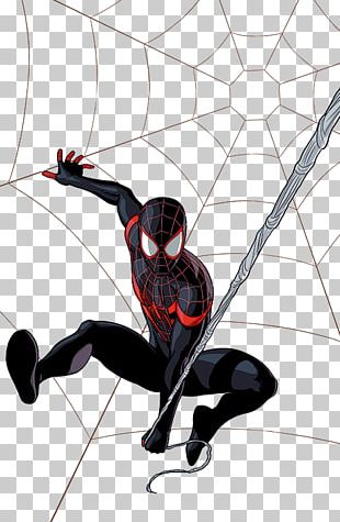 Miles Morales: The Ultimate Spider-Man Drawing Ultimate Marvel PNG