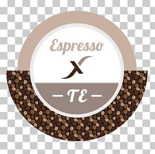 Espresso Coffee Label Tag Printing PNG