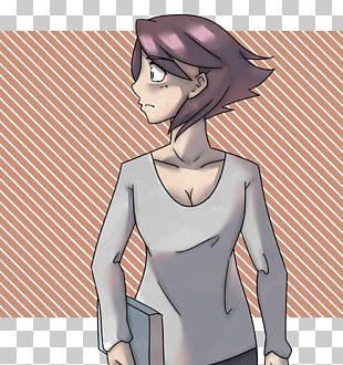 Finger Mangaka Black Hair Cartoon PNG