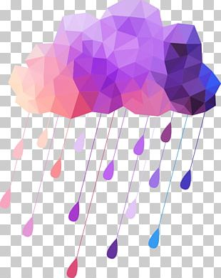 Cloud Rain Geometry Weather PNG