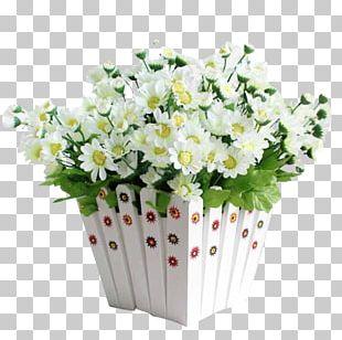 Flowerpot Artificial Flower Grow Light Ribbon PNG