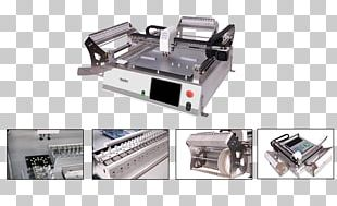 SMT Placement Equipment Surface-mount Technology Printed Circuit Board Manufacturing Electronics PNG