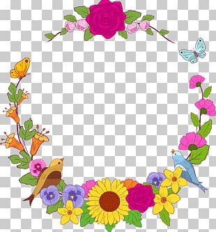 Cut Flowers Floral Design Flyer PNG