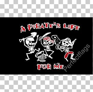 Pirate Flag Privateer Life T-shirt PNG