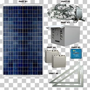 Solar Panels Electric Power System Solar Energy PNG