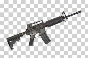 Airsoft Gun Firearm Rifle M4 Carbine PNG
