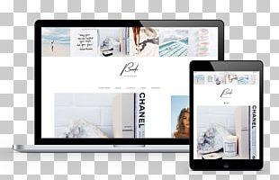 WordPress Fashion Blog Responsive Web Design PNG