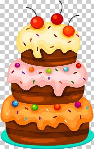 Birthday Cake Torte Wedding Cake Tart PNG