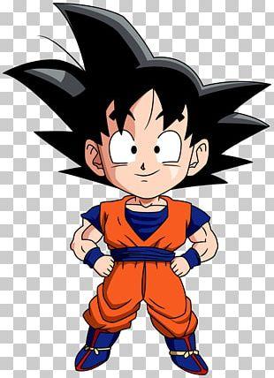 Goku Goten Vegeta Chibi Drawing PNG