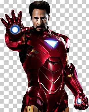 Robert Downey Jr. Iron Man PNG