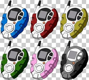 Digivice Digimon D-Cyber DigiDestined Digimon Adventure Tri. PNG