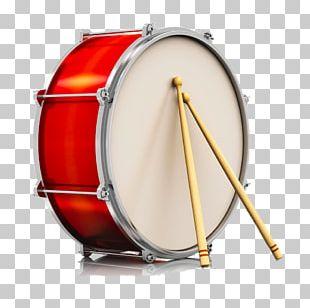 Drum Stick Bass Drum Stock Illustration PNG