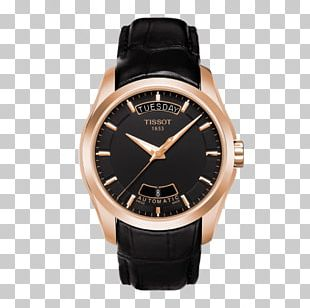 Tissot Automatic Watch Clock Mechanical Watch PNG