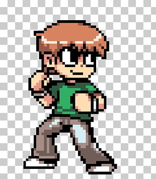 Scott Pilgrim Vs. The World: The Game YouTube Pixel Art Roxy Richter PNG
