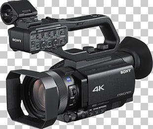 Sony NXCAM HXR-NX80 Sony XDCAM PXW-Z90V Video Cameras Handycam PNG