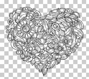 Heart-shaped Pattern PNG