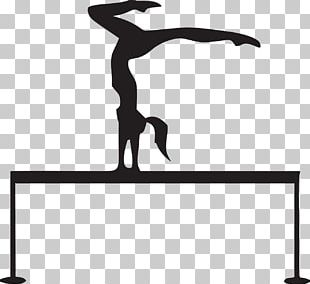 Artistic Gymnastics Balance Beam PNG