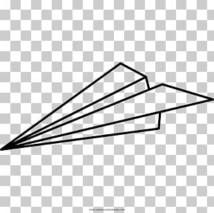 Airplane Paper Plane Coloring Book Drawing PNG