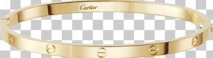 Love Bracelet Cartier Jewellery Watch PNG