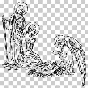 Nativity Scene Nativity Of Jesus PNG