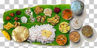 Sadhya Indian Cuisine Kerala Vegetarian Cuisine Kheer PNG