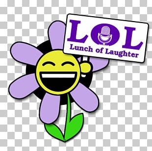 Smiley Flower Text Messaging PNG