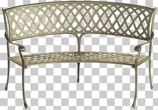 Bench Garden Furniture Chair PNG