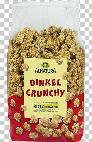 Muesli Breakfast Cereal Organic Food Alnatura PNG