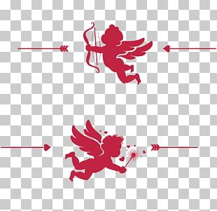 Wedding Invitation Valentines Day Cupid PNG