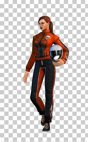 EVR Race Racing Video Game Character PNG