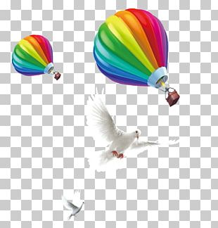 Hot Air Balloon Toy Balloon PNG