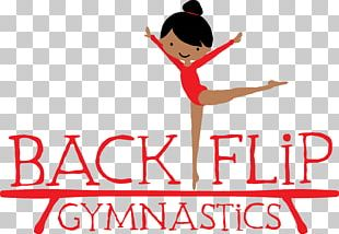 I Love Gymnastics Backflip Gymnastics PNG
