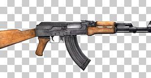 AK-47 Firearm Weapon Machine Gun PNG