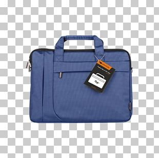 Laptop Handbag Blue Briefcase Backpack PNG