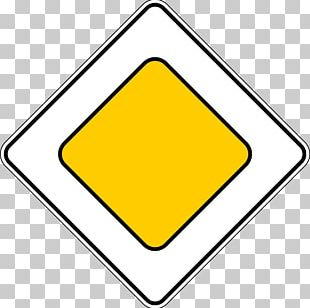 Priority Signs Traffic Sign Road Information PNG