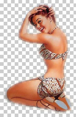 Pin-up Girl Bettie Page Poster Vintage Clothing Drawing PNG