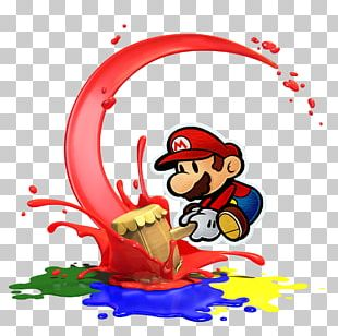 Super Mario Bros. Paper Mario: Color Splash Paper Mario: Sticker Star PNG