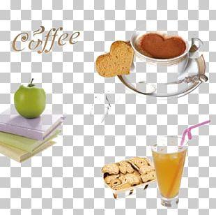 Coffee Tea Juice Breakfast Cafe PNG