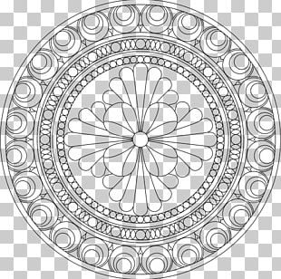Mandala Coloring Book Child Drawing PNG