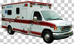 Ambulance Car PNG