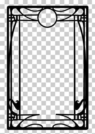 Borders And Frames Art Nouveau Frames And Borders Art Deco PNG