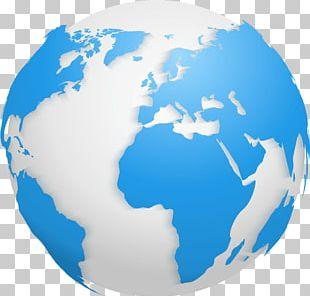 Globe World Map Old World PNG