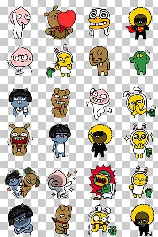 KakaoTalk Emoticon Kakao Friends Sticker PNG