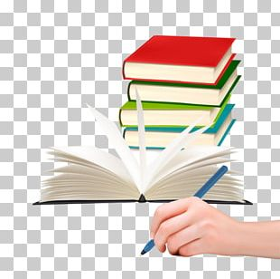 Paper Pen Writing Book PNG