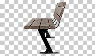 Table Bench Chair Park Garden PNG
